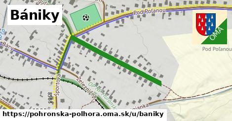 ilustračný obrázok k Bániky, Pohronská Polhora