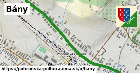 ilustračný obrázok k Bány, Pohronská Polhora