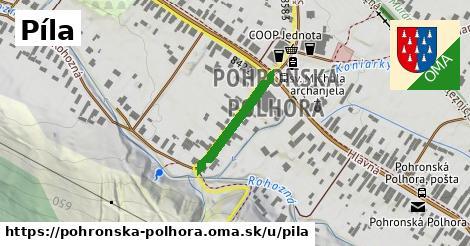 ilustrácia k Píla, Pohronská Polhora - 191m