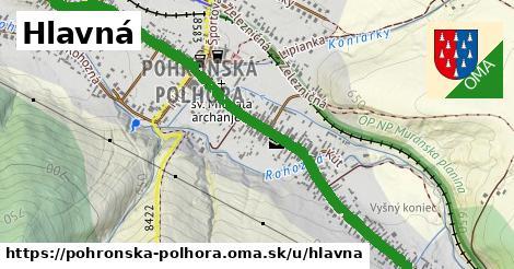 ilustrácia k Hlavná, Pohronská Polhora - 1,71km