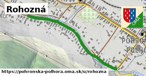 ilustrácia k Rohozná, Pohronská Polhora - 549m