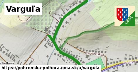 ilustračný obrázok k Varguľa, Pohronská Polhora