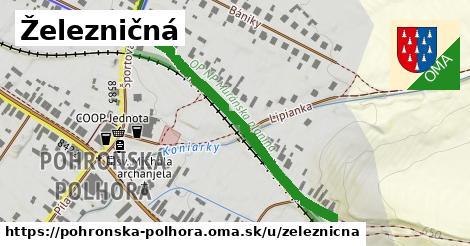 ilustrácia k Železničná, Pohronská Polhora - 441m