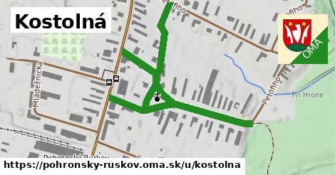 ilustrácia k Kostolná, Pohronský Ruskov - 0,75km