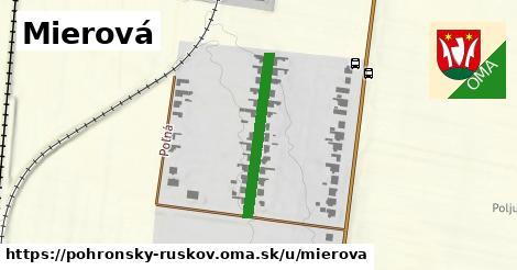 ilustrácia k Mierová, Pohronský Ruskov - 240m