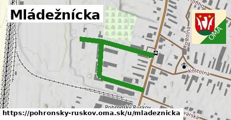 ilustrácia k Mládežnícka, Pohronský Ruskov - 512m