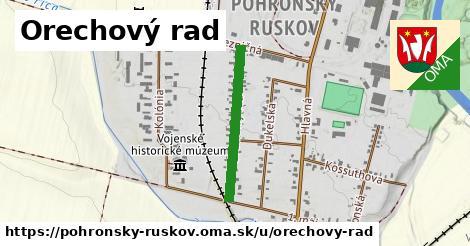 ilustrácia k Orechový rad, Pohronský Ruskov - 500m