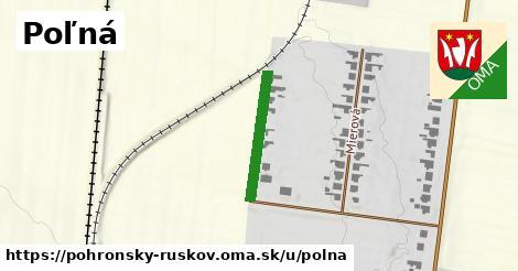 ilustrácia k Poľná, Pohronský Ruskov - 189m