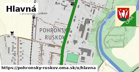 ilustrácia k Hlavná, Pohronský Ruskov - 2,3km