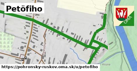 ilustrácia k Petöfiho, Pohronský Ruskov - 1,11km