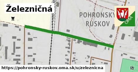 ilustrácia k Železničná, Pohronský Ruskov - 497m