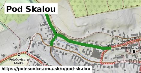 ilustrácia k Pod Skalou, Polešovice - 0,76km