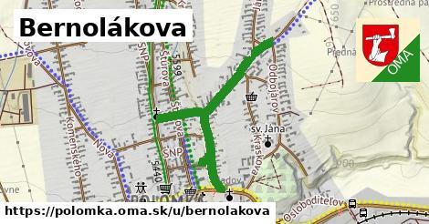 ilustrácia k Bernolákova, Polomka - 0,89km