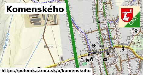 ilustrácia k Komenského, Polomka - 1,60km