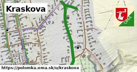 ilustrácia k Kraskova, Polomka - 560m
