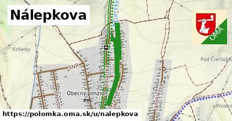 ilustrácia k Nálepkova, Polomka - 696m
