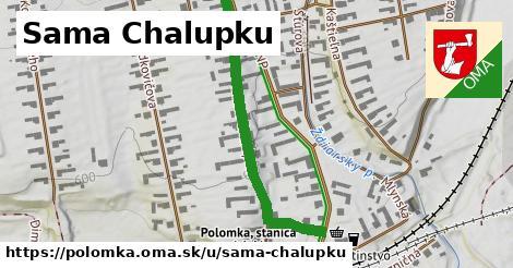 ilustrácia k Sama Chalupku, Polomka - 458m