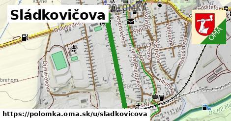 ilustrácia k Sládkovičova, Polomka - 617m