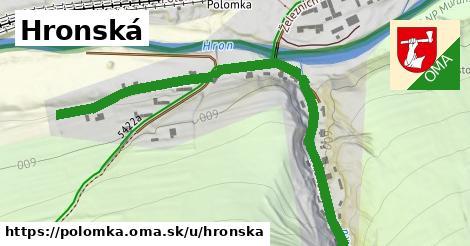 ilustrácia k Hronská, Polomka - 0,77km