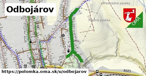 ilustrácia k Odbojárov, Polomka - 0,71km