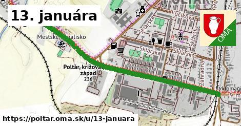 ilustrácia k 13. januára, Poltár - 1,37km