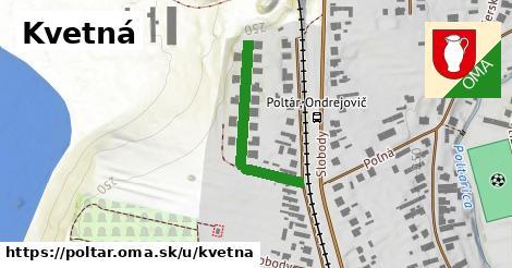 ilustrácia k Kvetná, Poltár - 280m