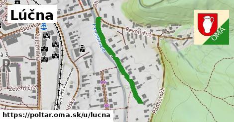 ilustrácia k Lúčna, Poltár - 308m