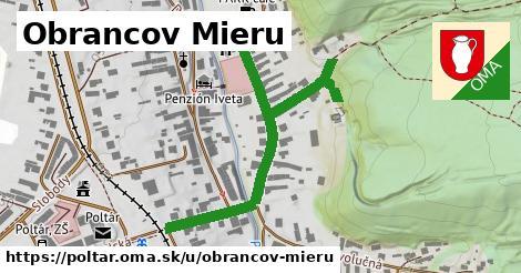 ilustrácia k Obrancov mieru, Poltár - 568m
