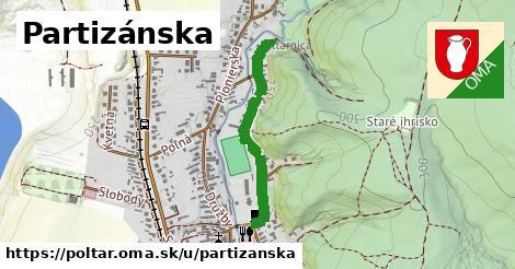 ilustrácia k Partizánska, Poltár - 610m