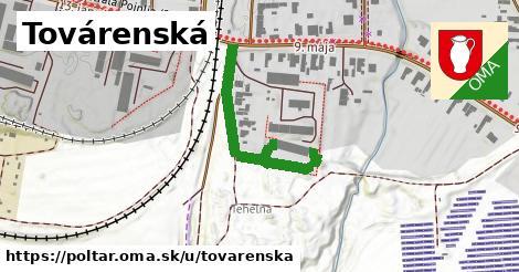ilustrácia k Továrenská, Poltár - 316m