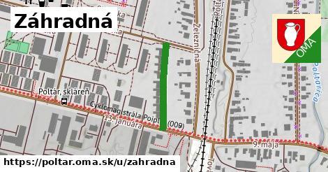 ilustrácia k Záhradná, Poltár - 190m