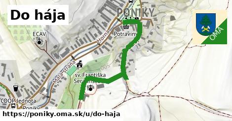 ilustračný obrázok k Do Hája, Poniky