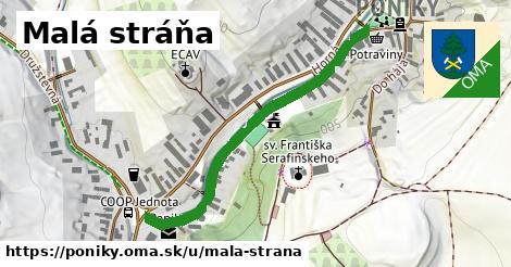 ilustrácia k Malá Strana, Poniky - 462m