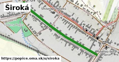 ilustrácia k Široká, Popice - 570m