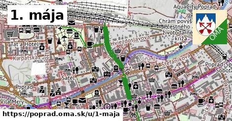 ilustrácia k 1. mája, Poprad - 446m