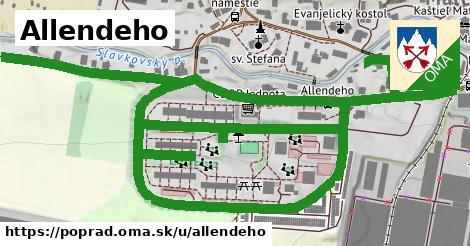 ilustrácia k Allendeho, Poprad - 1,87km