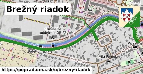 ilustračný obrázok k Brežný riadok, Poprad