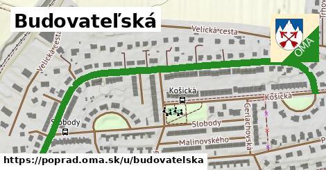 ilustračný obrázok k Budovateľská, Poprad