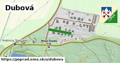 ilustrácia k Dubová, Poprad - 144m