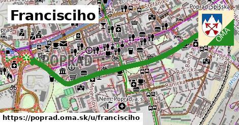 ilustrácia k Francisciho, Poprad - 1,19km
