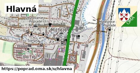 ilustračný obrázok k Hlavná, Poprad