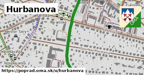 ilustračný obrázok k Hurbanova, Poprad