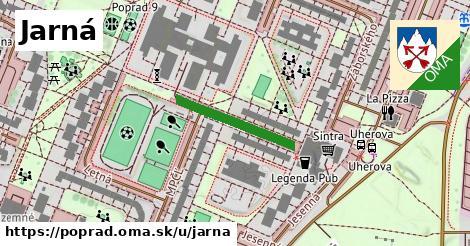 ilustrácia k Jarná, Poprad - 203m