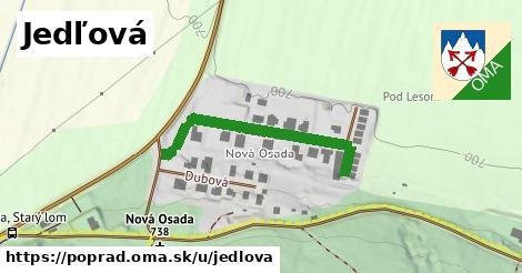 ilustrácia k Jedľová, Poprad - 266m