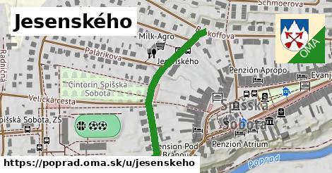 ilustrácia k Jesenského, Poprad - 352m