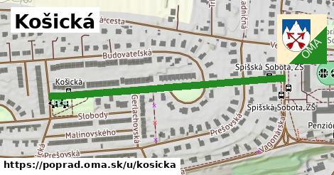 ilustrácia k Košická, Poprad - 530m