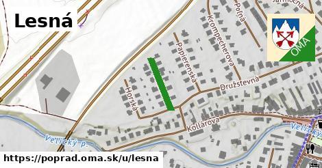ilustrácia k Lesná, Poprad - 131m