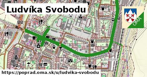 ilustrácia k Ludvíka Svobodu, Poprad - 1,67km