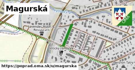 ilustrácia k Magurská, Poprad - 133m