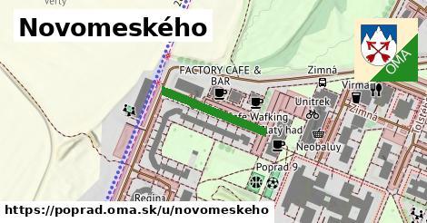 ilustrácia k Novomeského, Poprad - 186m